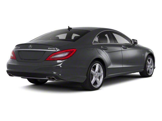 Steel Grey 2013 Mercedes-Benz CLS-Class Pictures CLS-Class Sedan 4D CLS550 AWD photos rear view