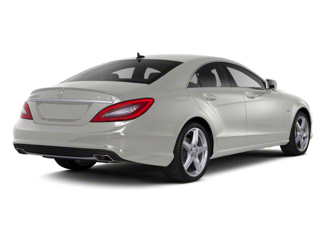 Iridium Silver Metallic 2013 Mercedes-Benz CLS-Class Pictures CLS-Class Sedan 4D CLS550 AWD photos rear view