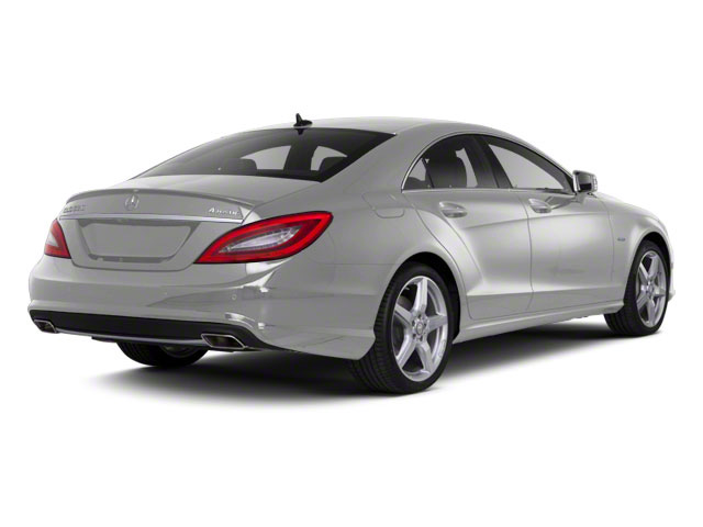 Indium Grey Metallic 2013 Mercedes-Benz CLS-Class Pictures CLS-Class Sedan 4D CLS550 AWD photos rear view