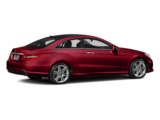 Mars Red 2013 Mercedes-Benz E-Class Pictures E-Class Coupe 2D E550 photos rear view