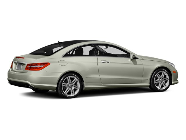 Iridium Silver Metallic 2013 Mercedes-Benz E-Class Pictures E-Class Coupe 2D E550 photos rear view