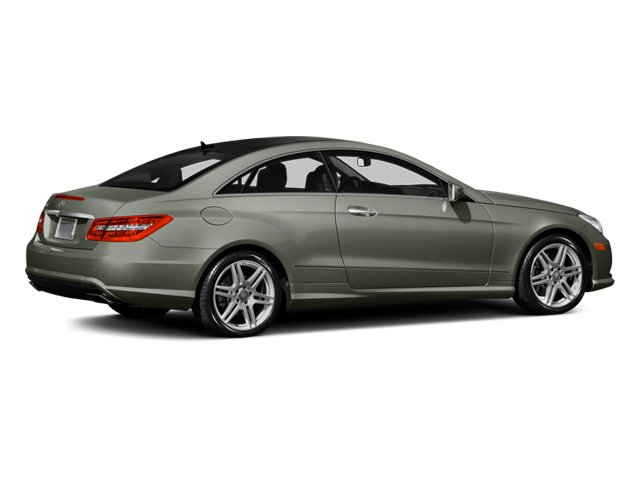 Palladium Silver Metallic 2013 Mercedes-Benz E-Class Pictures E-Class Coupe 2D E550 photos rear view