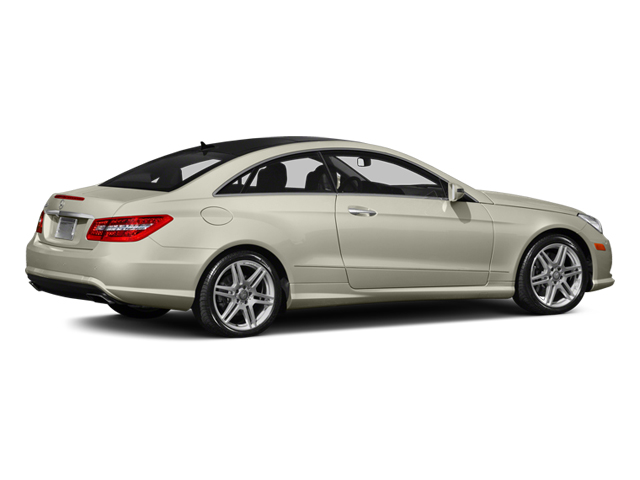 Diamond White Metallic 2013 Mercedes-Benz E-Class Pictures E-Class Coupe 2D E550 photos rear view