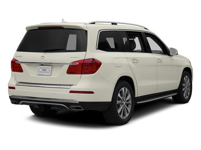 Diamond White Metallic 2013 Mercedes-Benz GL-Class Pictures GL-Class Utility 4D GL450 4WD photos rear view
