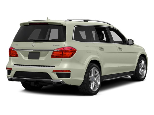 Arctic White 2013 Mercedes-Benz GL-Class Pictures GL-Class Utility 4D GL550 4WD photos rear view