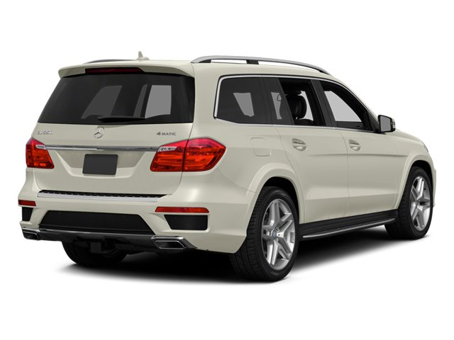 Diamond White Metallic 2013 Mercedes-Benz GL-Class Pictures GL-Class Utility 4D GL550 4WD photos rear view
