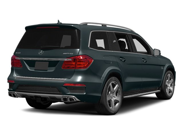 Steel Grey Metallic 2013 Mercedes-Benz GL-Class Pictures GL-Class Utility 4D GL63 AMG 4WD photos rear view
