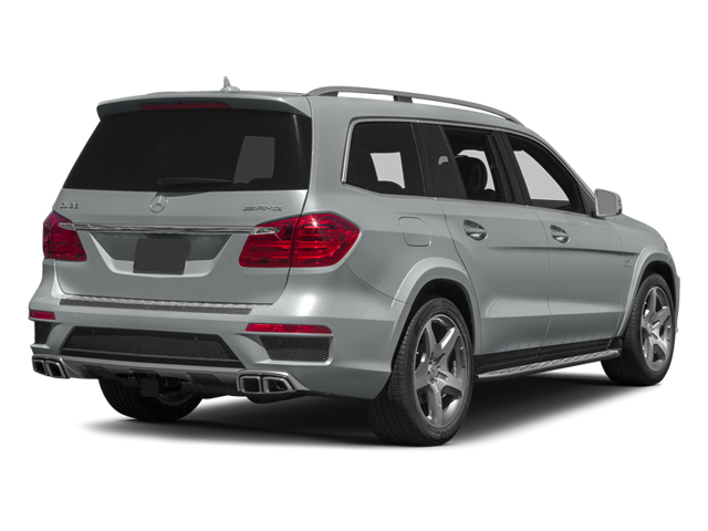 Iridium Silver Metallic 2013 Mercedes-Benz GL-Class Pictures GL-Class Utility 4D GL63 AMG 4WD photos rear view