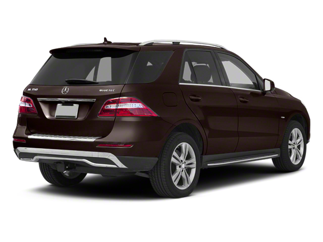 Dakota Brown Metallic 2013 Mercedes-Benz M-Class Pictures M-Class Utility 4D ML350 BlueTEC AWD photos rear view