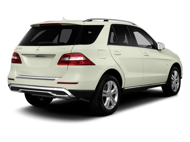 Arctic White 2013 Mercedes-Benz M-Class Pictures M-Class Utility 4D ML350 AWD photos rear view