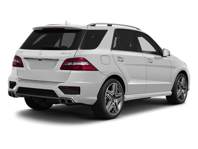 Arctic White 2013 Mercedes-Benz M-Class Pictures M-Class Utility 4D ML63 AMG AWD photos rear view