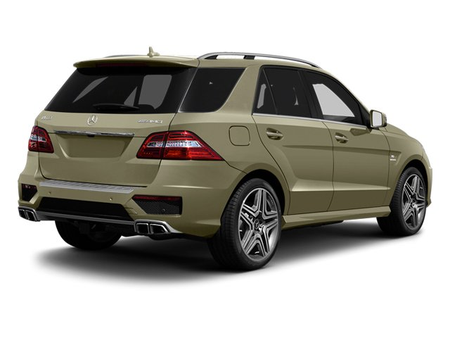 Pearl Beige Metallic 2013 Mercedes-Benz M-Class Pictures M-Class Utility 4D ML63 AMG AWD photos rear view