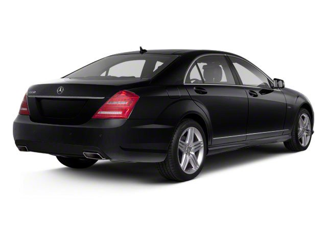 Black 2013 Mercedes-Benz S-Class Pictures S-Class Sedan 4D S400 Hybrid photos rear view