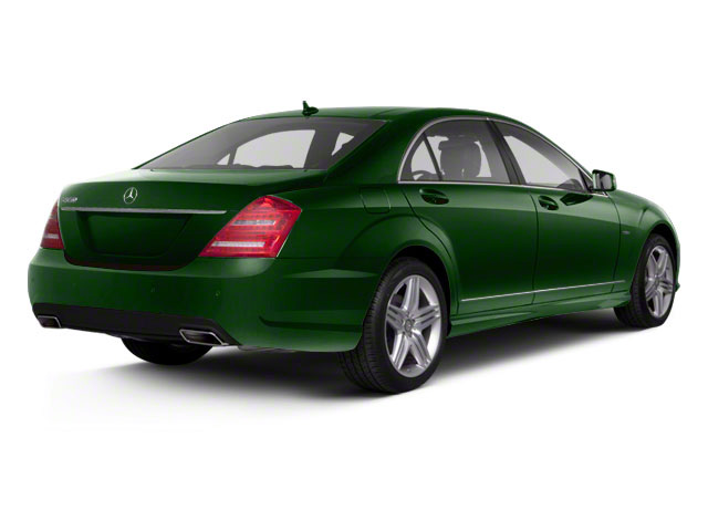 Jade Green Metallic 2013 Mercedes-Benz S-Class Pictures S-Class Sedan 4D S400 Hybrid photos rear view