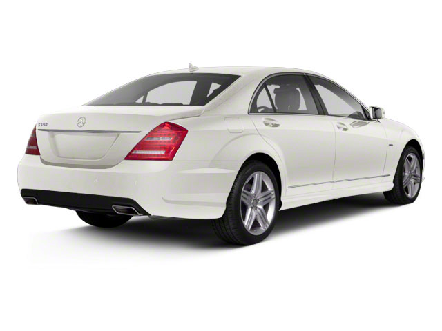 Diamond White Metallic 2013 Mercedes-Benz S-Class Pictures S-Class Sedan 4D S400 Hybrid photos rear view