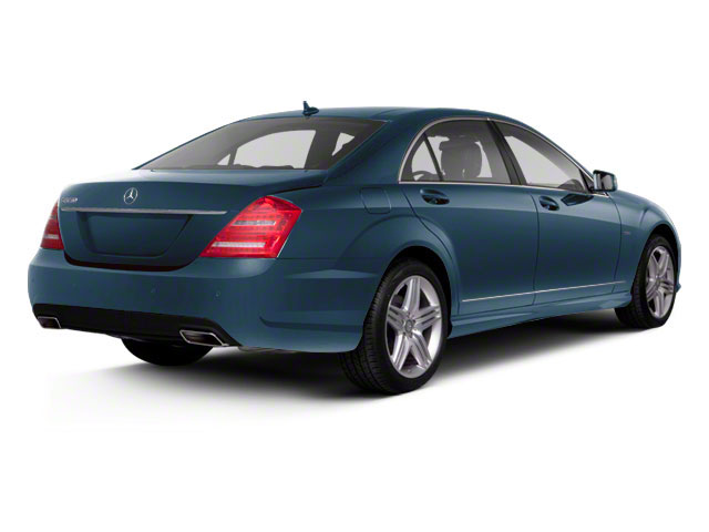 Lunar Blue Metallic 2013 Mercedes-Benz S-Class Pictures S-Class Sedan 4D S400 Hybrid photos rear view