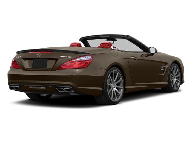 Dolomite Brown 2013 Mercedes-Benz SL-Class Pictures SL-Class Roadster 2D SL63 AMG photos rear view