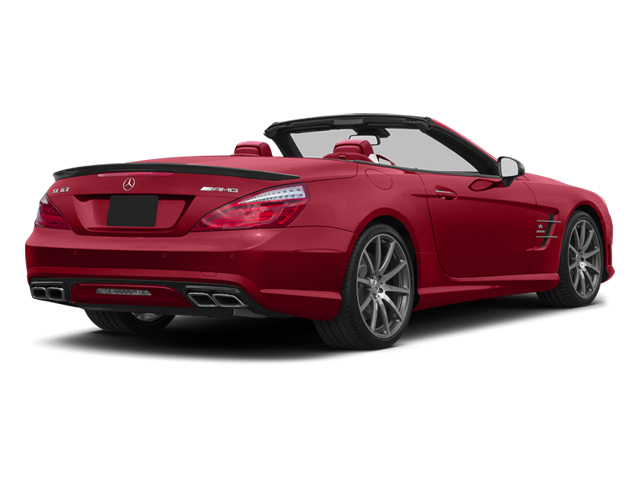 Mars Red 2013 Mercedes-Benz SL-Class Pictures SL-Class Roadster 2D SL63 AMG photos rear view