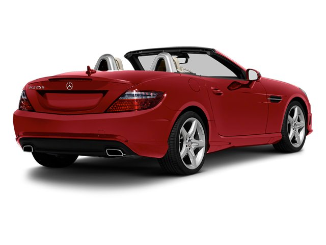 Mars Red 2013 Mercedes-Benz SLK-Class Pictures SLK-Class Roadster 2D SLK55 AMG photos rear view