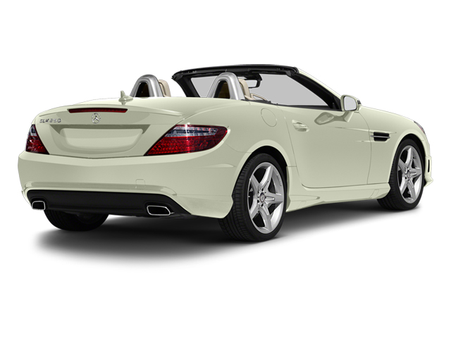 Arctic White 2013 Mercedes-Benz SLK-Class Pictures SLK-Class Roadster 2D SLK55 AMG photos rear view