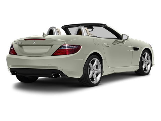 Iridium Silver Metallic 2013 Mercedes-Benz SLK-Class Pictures SLK-Class Roadster 2D SLK350 photos rear view