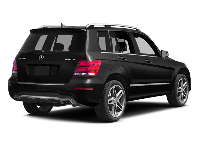 Black 2013 Mercedes-Benz GLK-Class Pictures GLK-Class Utility 4D GLK250 BlueTEC AWD photos rear view