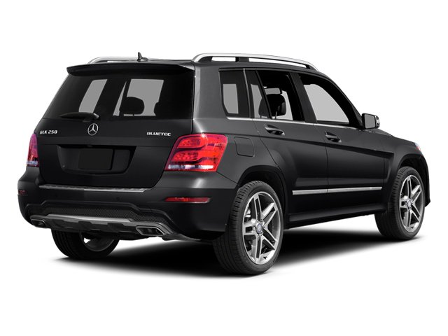 Steel Grey Metallic 2013 Mercedes-Benz GLK-Class Pictures GLK-Class Utility 4D GLK250 BlueTEC AWD photos rear view