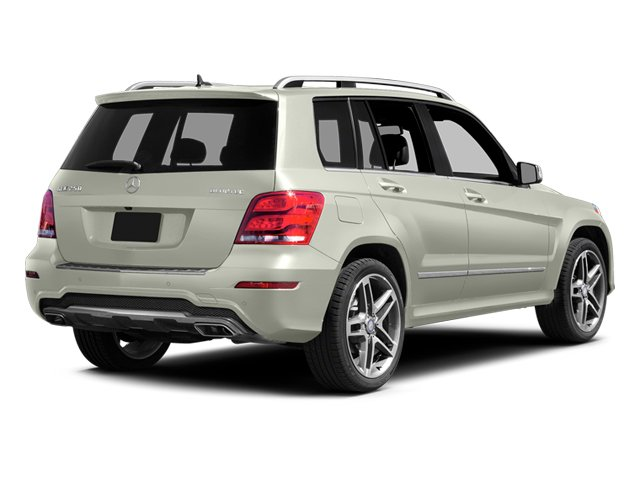 Iridium Silver Metallic 2013 Mercedes-Benz GLK-Class Pictures GLK-Class Utility 4D GLK250 BlueTEC AWD photos rear view