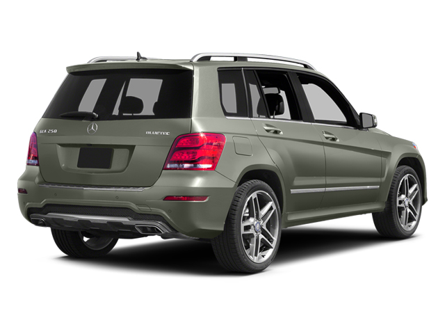 Palladium Silver Metallic 2013 Mercedes-Benz GLK-Class Pictures GLK-Class Utility 4D GLK250 BlueTEC AWD photos rear view