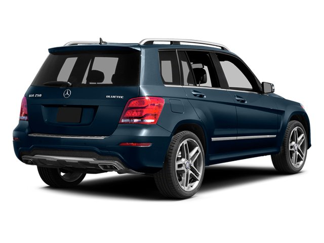 Lunar Blue Metallic 2013 Mercedes-Benz GLK-Class Pictures GLK-Class Utility 4D GLK250 BlueTEC AWD photos rear view