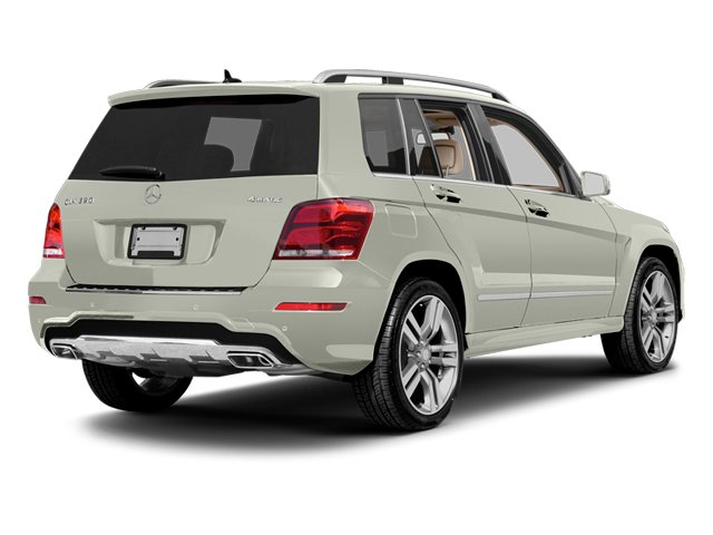 Iridium Silver Metallic 2013 Mercedes-Benz GLK-Class Pictures GLK-Class Utility 4D GLK350 AWD photos rear view