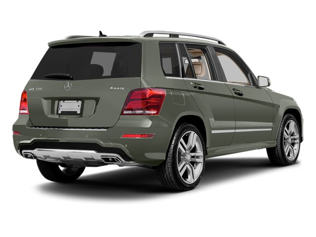 Palladium Silver Metallic 2013 Mercedes-Benz GLK-Class Pictures GLK-Class Utility 4D GLK350 AWD photos rear view