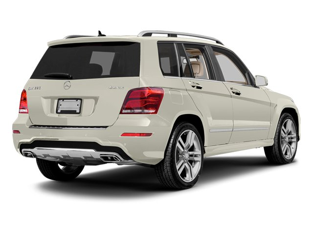 Diamond White Metallic 2013 Mercedes-Benz GLK-Class Pictures GLK-Class Utility 4D GLK350 AWD photos rear view