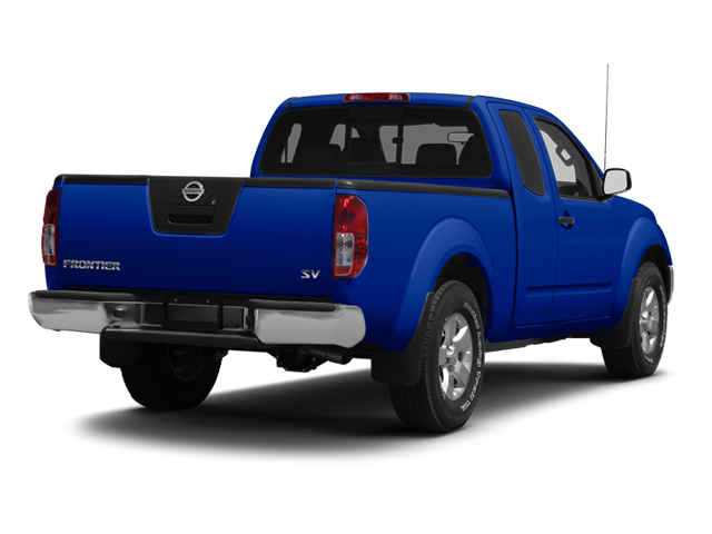 Metallic Blue 2013 Nissan Frontier Pictures Frontier King Cab SV 2WD photos rear view