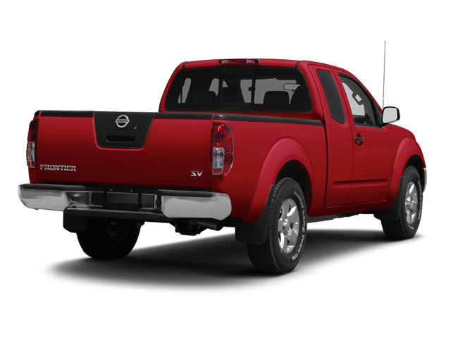 Lava Red 2013 Nissan Frontier Pictures Frontier King Cab SV 2WD photos rear view