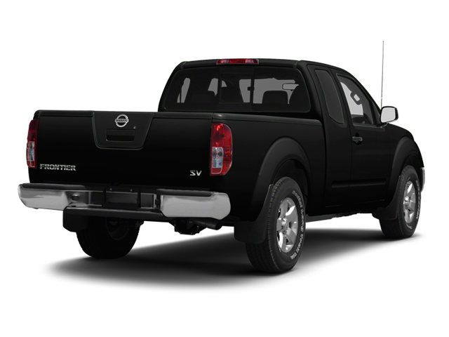 Super Black 2013 Nissan Frontier Pictures Frontier King Cab SV 2WD photos rear view