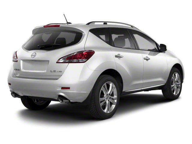 Brilliant Silver 2013 Nissan Murano Pictures Murano Utility 4D SL 2WD V6 photos rear view