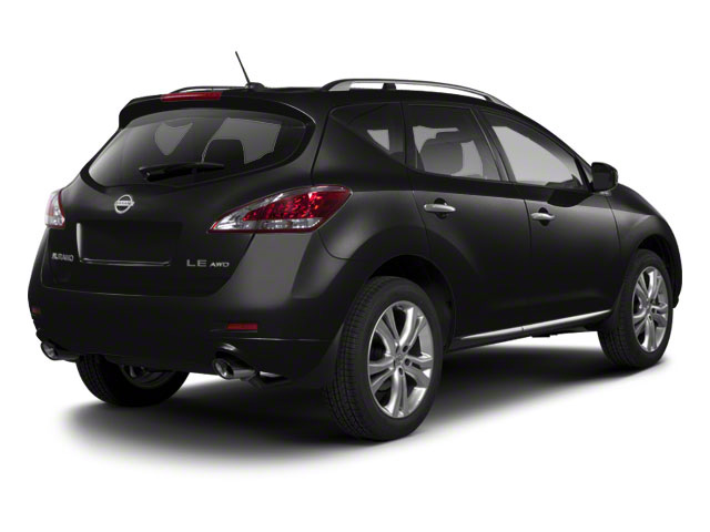 Super Black 2013 Nissan Murano Pictures Murano Utility 4D SL 2WD V6 photos rear view