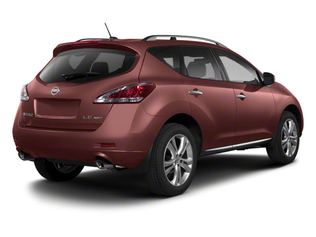 Midnight Garnet 2013 Nissan Murano Pictures Murano Utility 4D SL 2WD V6 photos rear view