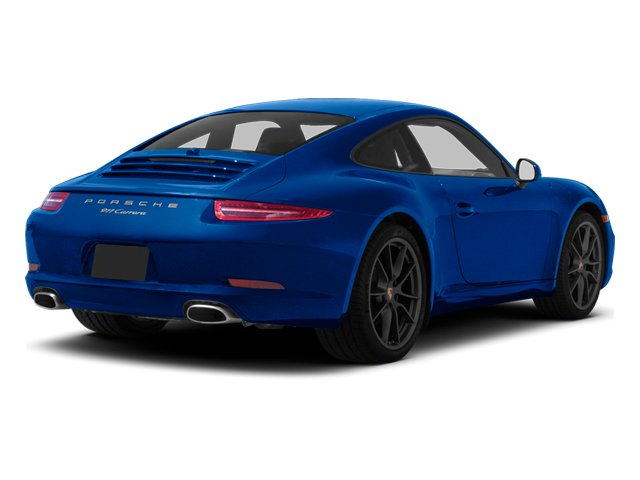 Aqua Blue Metallic 2013 Porsche 911 Pictures 911 Coupe 2D H6 photos rear view