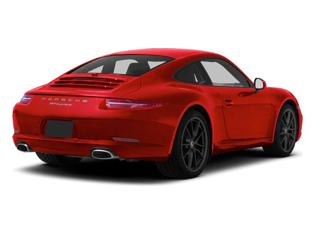 Guards Red 2013 Porsche 911 Pictures 911 Coupe 2D H6 photos rear view