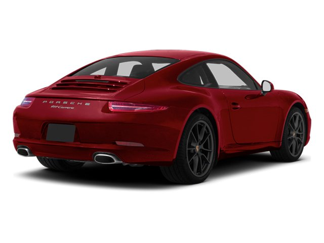 Amaranth Red Metallic 2013 Porsche 911 Pictures 911 Coupe 2D H6 photos rear view