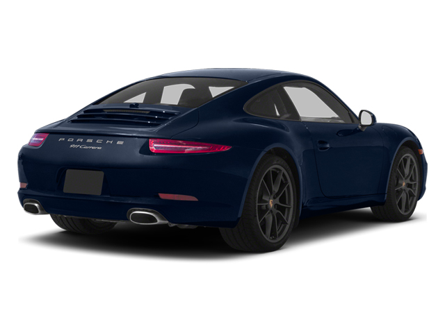 Dark Blue Metallic 2013 Porsche 911 Pictures 911 Coupe 2D H6 photos rear view