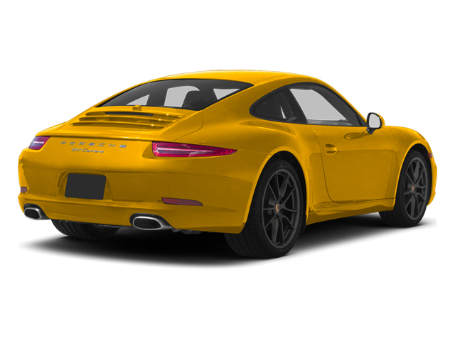 Racing Yellow 2013 Porsche 911 Pictures 911 Coupe 2D H6 photos rear view
