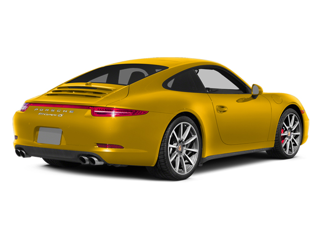 Racing Yellow 2013 Porsche 911 Pictures 911 Coupe 2D 4 AWD H6 photos rear view
