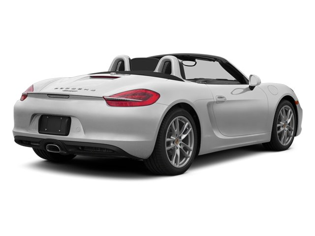 Platinum Silver Metallic 2013 Porsche Boxster Pictures Boxster Roadster 2D photos rear view