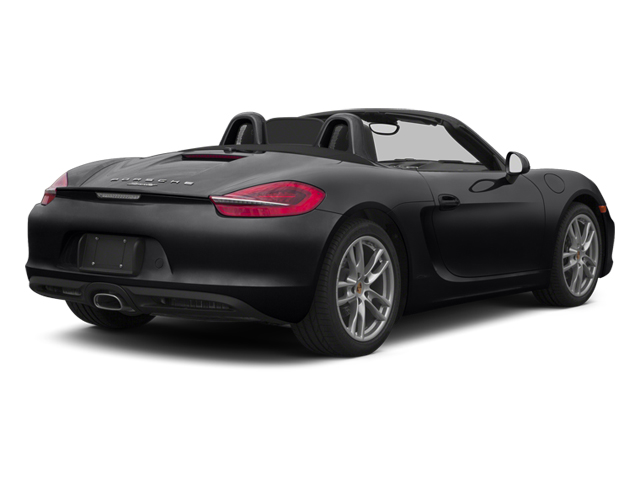 Black 2013 Porsche Boxster Pictures Boxster Roadster 2D photos rear view