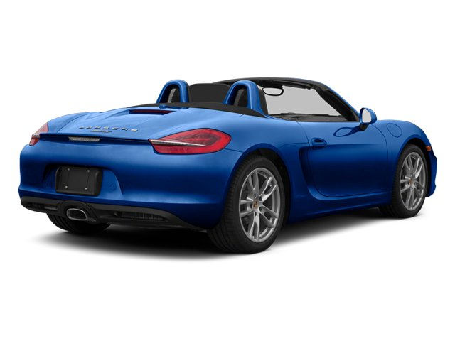 Aqua Blue Metallic 2013 Porsche Boxster Pictures Boxster Roadster 2D photos rear view