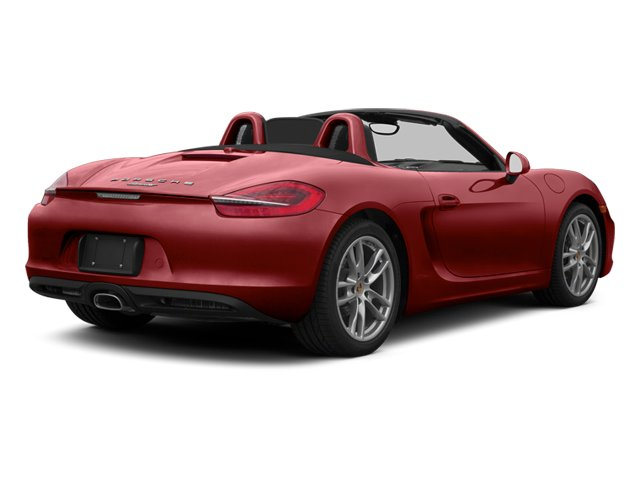 Amaranth Red Metallic 2013 Porsche Boxster Pictures Boxster Roadster 2D photos rear view