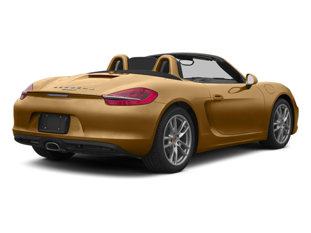 Cognac Metallic 2013 Porsche Boxster Pictures Boxster Roadster 2D photos rear view